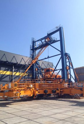 Custom-made hydraulic system for offshore wind contractor