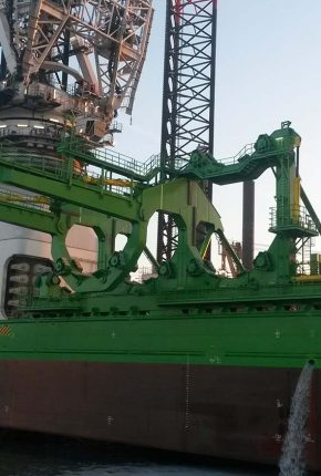 Hydraulics for Skidding & Upending tool