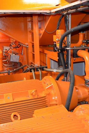 Hydraulic power unit Monopile Gripper