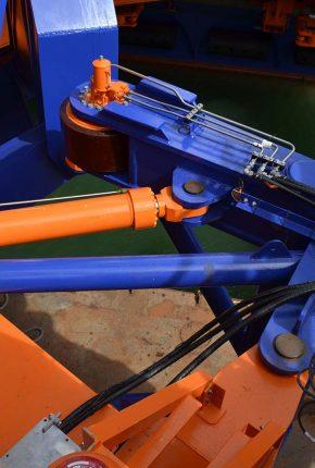 Hydraulic system cylinders
